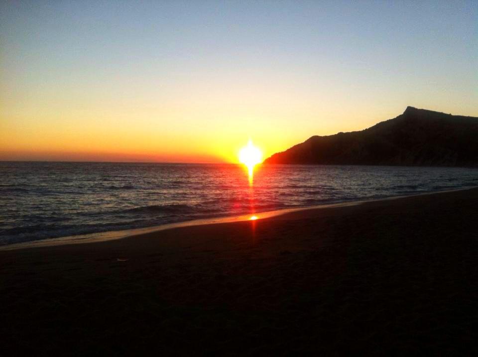 Korfu, pláž Arkoudilas, Řecko  Krásné pláže