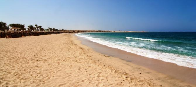 Marsa Alam, pláž Abu Dabbab, Egypt #Cestování