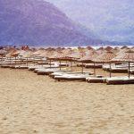 Dalyan, Iztuzu Beach, Turecko