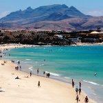 Fuerteventura, Playa El Castillo, Kanárské ostrovy