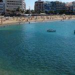 Las Palmas , Playa de Las Canteras, Kanárské ostrovy