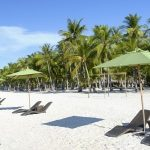 Ostrov Panglao, pláž Alona, Filipíny