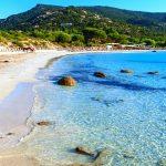 Pláž Palombaggia, Korsika, Francie